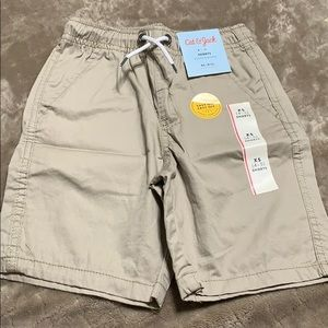 Cat & Jack toddler boys khaki tan shorts